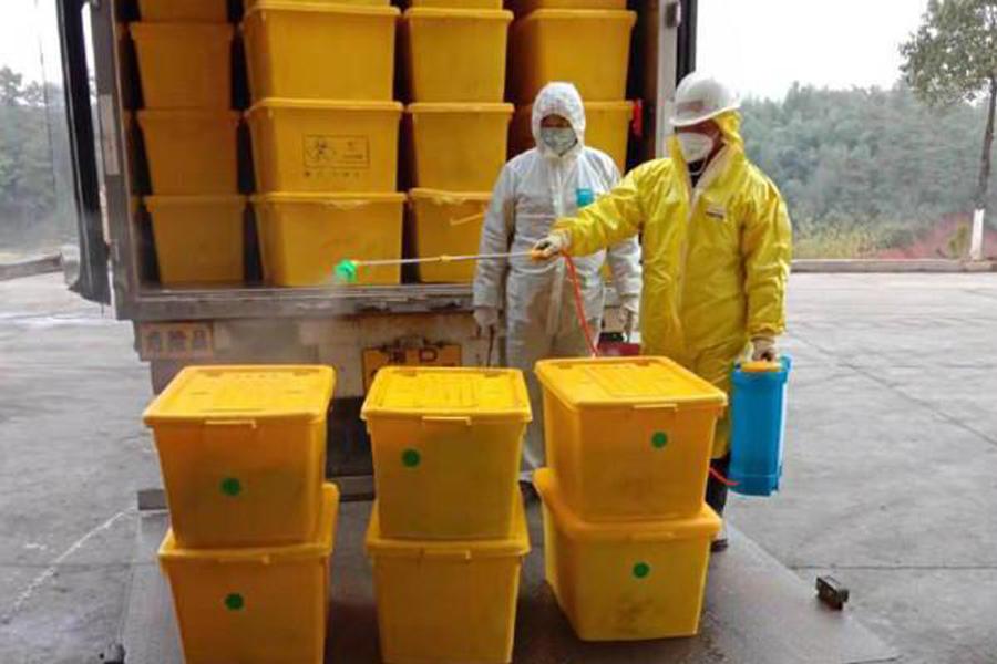 医疗废弃物难管理,智慧医废管理平台来了